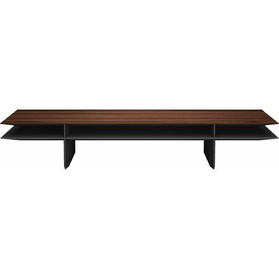 Kensington Coffee Table Color: Rosewood on Black