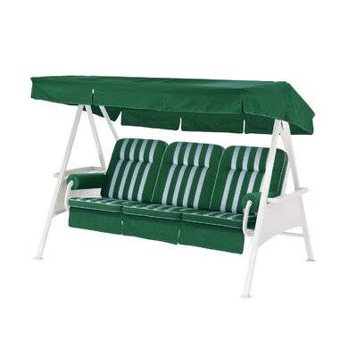 Porch Swing with Stand Color: Green