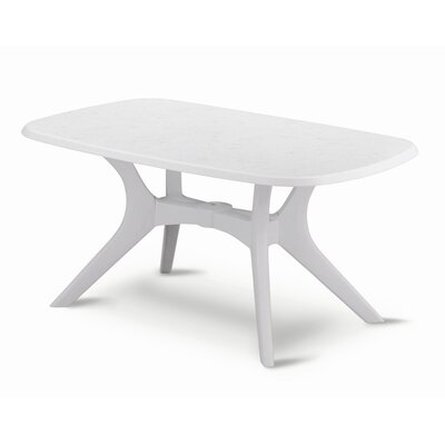 Kettalux Plus Dining Table Finish: White