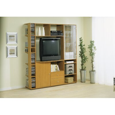Entertainment Center Color: Beech