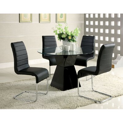 Monaco Dining Table Table Finish Black