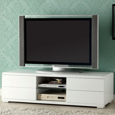 Sharron 60 TV Stand Color: White