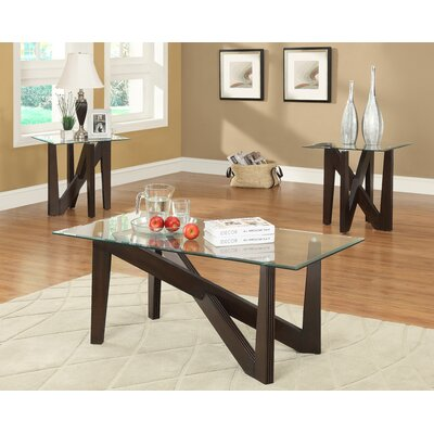Cinno 3 Piece Coffee Table Set