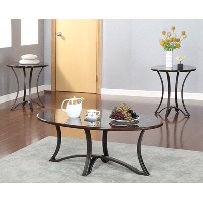 Borane 3 Piece Coffee Table Set