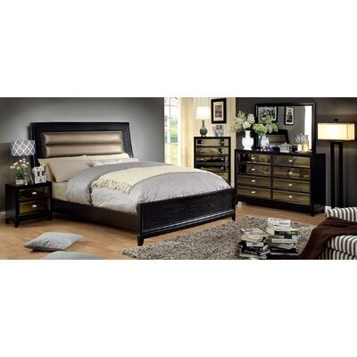 Guerrero Upholstered Panel Bed