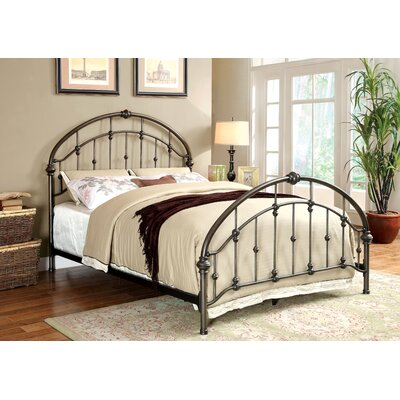 Agatha Panel Bed Size: California King