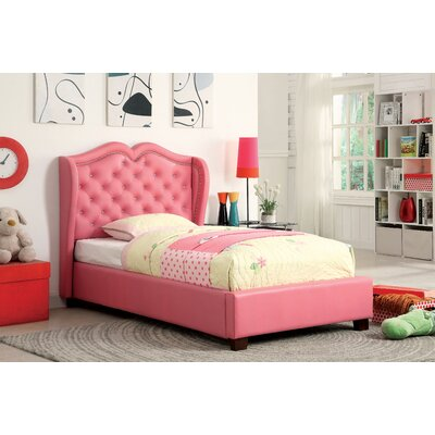 Vanitas Upholstered Platform Bed