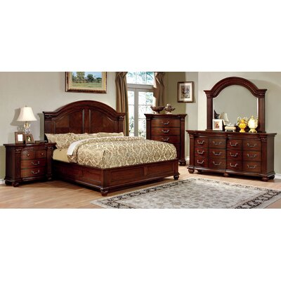 Crispin Platform Configurable Bedroom Set