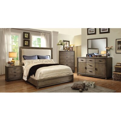 Karla Upholstered Panel Bed