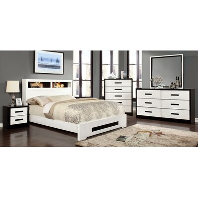 Verzaci Storage Platform Bed