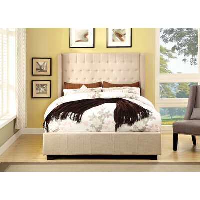 Freeburg Upholstered Panel Bed