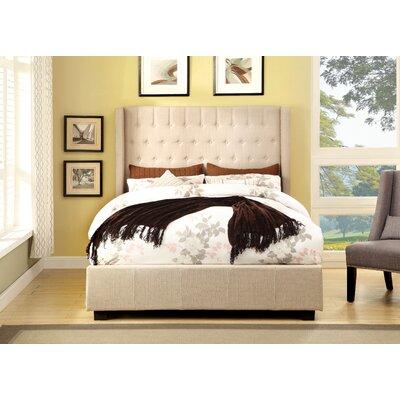 Hokku Designs Estelle Platform Bed - Size: Eastern King, Color: Ivory