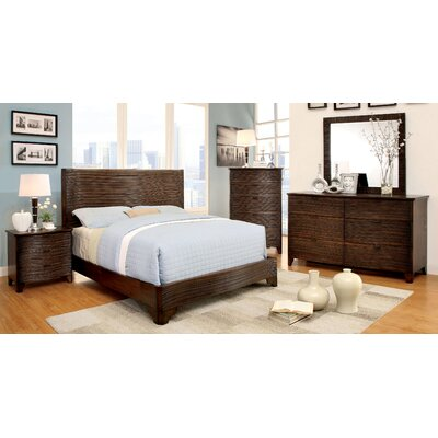 Hokku Designs Joaquin Platform Customizable Bedroom Set (3 Pieces) - Size: King