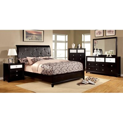 Rogers Upholstered Panel Bed