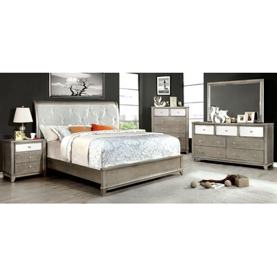 Rogers Upholstered Platform Bed