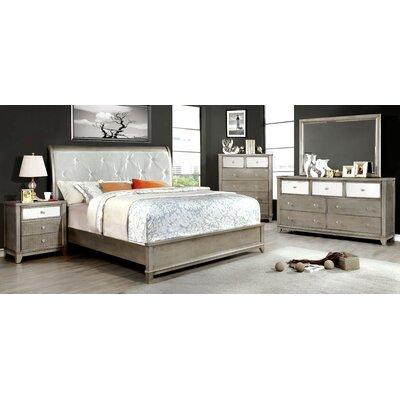 Rogers Upholstered Platform Bed