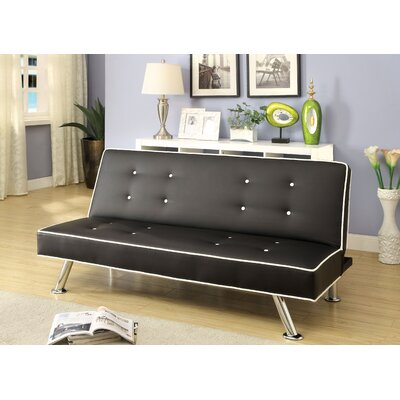 JEG-3574XI KUI6368 Hokku Designs Branden Convertible Sofa Piping