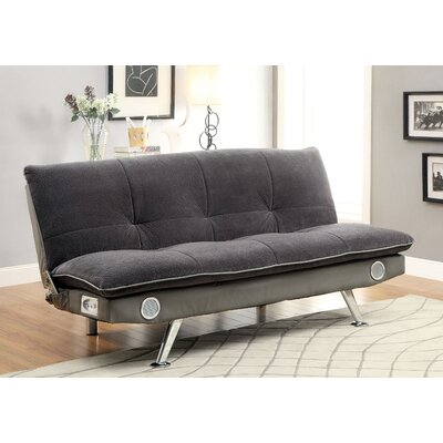 Cremshen Convertible Sofa Upholstery: Gray