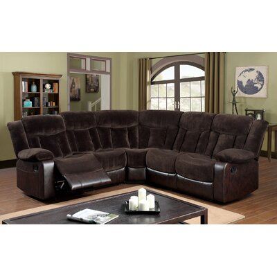 Hokku Designs KUI10200 Bruce Reclining Sectional