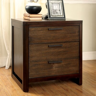 Clanton 2 Drawer Nightstand