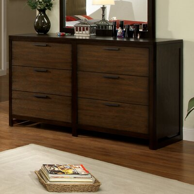 Clanton 6 Drawer Dresser