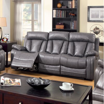 JEG-7087TG KUI5443 Hokku Designs Ryewell Reclining Sofa