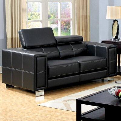 JEG-7421-MW KUI5447 Hokku Designs Glenwill Loveseat