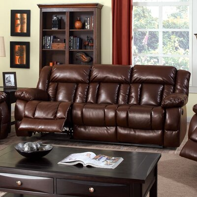 Hokku Designs JEG-7425-TG Genriche Power Motion Reclining Sofa