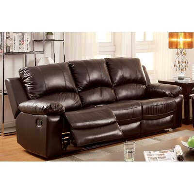 Luria Leather Reclining Sofa