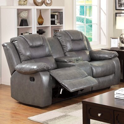 JEG-7924MW KUI5476 Hokku Designs Harrison Reclining Loveseat