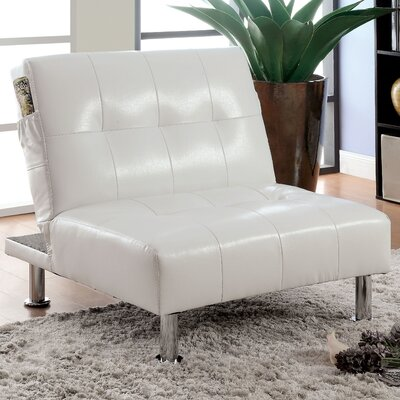 Fergus Convertible Chair Upholstery: White
