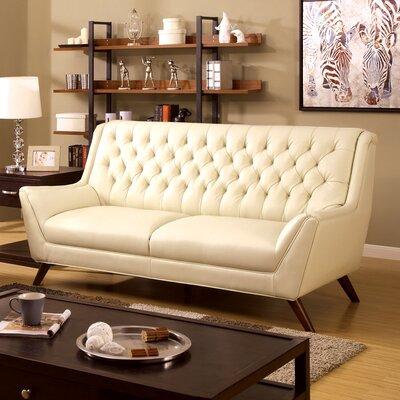 JEG-7146XI-TG KUI5496 Hokku Designs Daine Modern Tufted Sofa