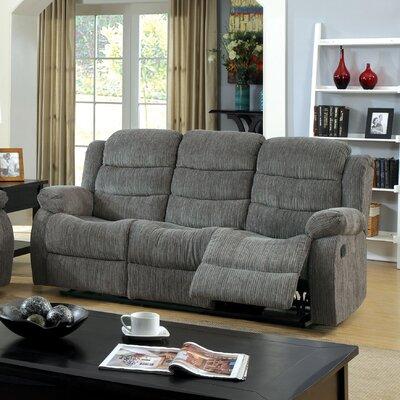 Fergstein Reclining Sofa Upholstery: Gray