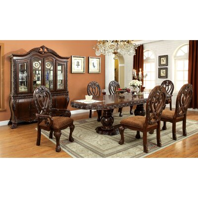 Dolores 7 Piece Dining Set Finish Cherry