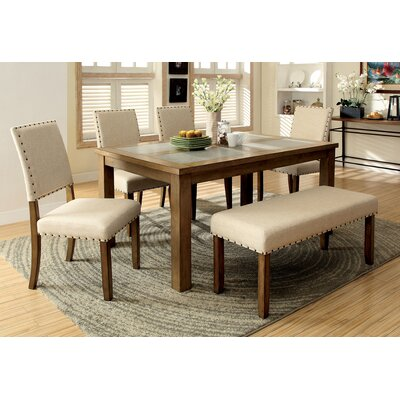 Crafton Modern 6 Piece Dining Set