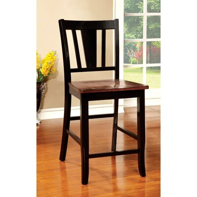 Leo Minor 22.75 Bar Stool Finish: Black