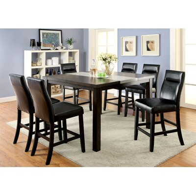 Callahan 7 Piece Counter Height Pub Set