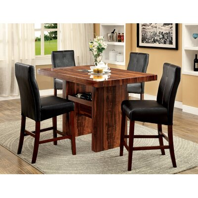 Carroll 5 Piece Counter Height Pub Set
