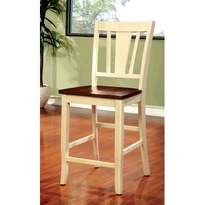 Leo Minor 22.75 Bar Stool Finish: Cream White