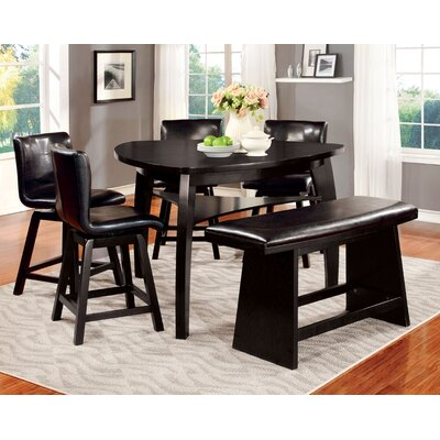Lawrence 6 Piece Counter Height Pub Set