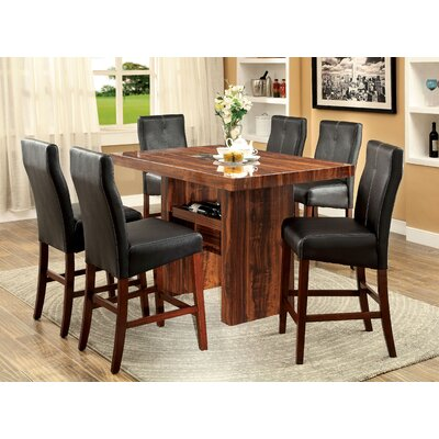 Carroll 7 Piece Counter Height Pub Set