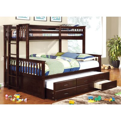 Sandra Twin over Queen Bunk Bed