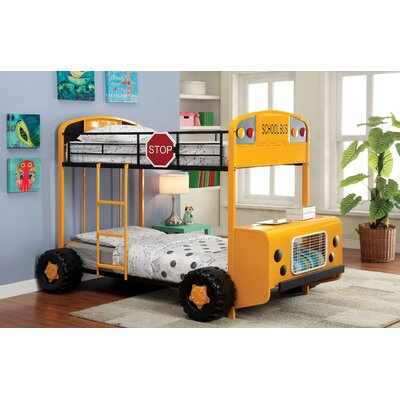 Bus Driver Twin Bunk Bed
