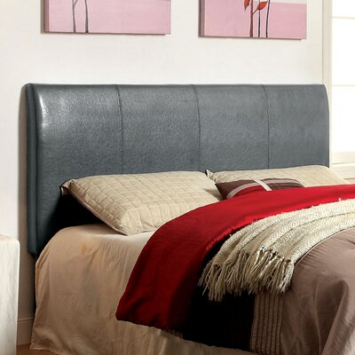 Kinnelon Upholstered Panel Headboard Size: Full / Queen, Upholstery: Grey