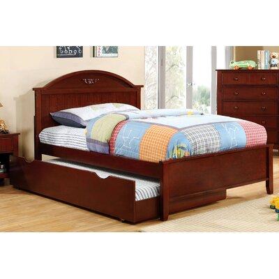 Shoreman Platform Bed Size: Full, Finish: Cherry
