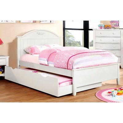 Shoreman Platform Bed Size: Twin, Finish: Pure White