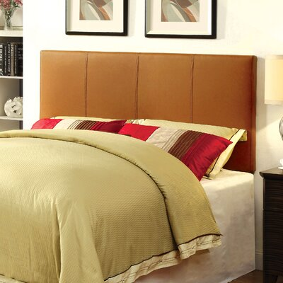 Temara Upholstered Panel Headboard Size: Full / Queen, Upholstery: Clay