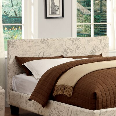 Temara Upholstered Panel Headboard Size: Full / Queen