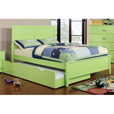 Spectrum Platform Bed Size: Full, Color: Pistachio Green