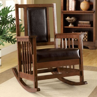 Valley Leatherette Arm Rocking Chair JEG-BD7691